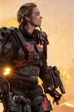 Preview iPhone wallpaper Emily Blunt, Edge of Tomorrow