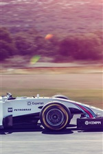 Preview iPhone wallpaper Formula 1, F1, sport car, high speed