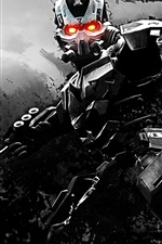 Preview iPhone wallpaper Killzone 3, cyborg
