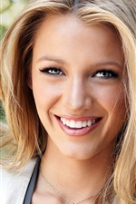 Preview iPhone wallpaper Blake Lively 09