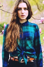 Preview iPhone wallpaper British singer, Birdy, Jasmine van den Bogaerde