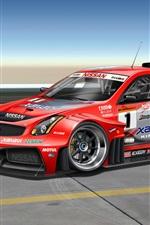 Preview iPhone wallpaper Infiniti G-Series G35 race car
