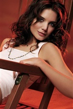 Preview iPhone wallpaper Katie Holmes 05