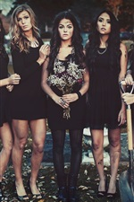 Preview iPhone wallpaper Pretty Little Liars, four beautiful girls