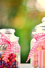 Preview iPhone wallpaper Sweet food, candy, bottle