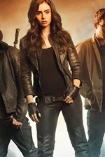 Preview iPhone wallpaper 2013 movie, The Mortal Instruments City of Bones