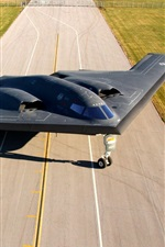 Preview iPhone wallpaper B-2 Spirit, bomber, airfield