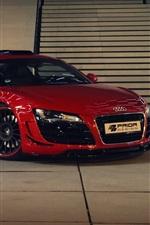 Audi R8 GT650 red supercar