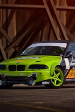 BMW E46 M3 car drift