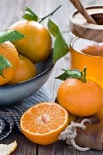 Preview iPhone wallpaper Kumquats, citrus, fruit, orange, honey, juice