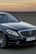 Mercedes-Benz S 350 black car