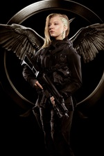 Preview iPhone wallpaper Natalie Dormer, The Hunger Games: Mockingjay, Part 1