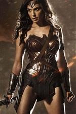 Preview iPhone wallpaper Wonder woman, Batman v Superman: Dawn of Justice
