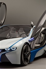BMW concept car, open wings