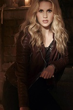 Preview iPhone wallpaper Claire Holt 01