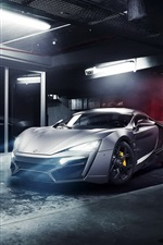 Preview iPhone wallpaper Lykan Hypersport supercar