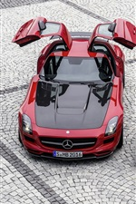 미리보기 iPhone 배경 화면 메르세데스 - 벤츠 SLS AMG 자동차
