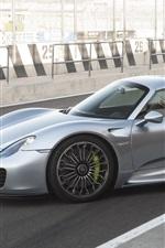 Porsche 918 Spyder Concept supercar