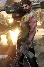 Preview iPhone wallpaper Serious Sam 4