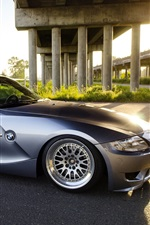 미리보기 iPhone 배경 화면 BMW Z4은 자동차 측면보기
