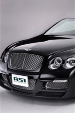 Preview iPhone wallpaper Bentley convertible, black car