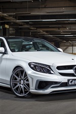 Carlsson, Mercedes-Benz, C-class, white car