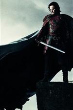 Preview iPhone wallpaper Dracula Untold 2014, Luke Evans