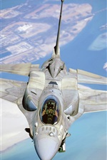 Preview iPhone wallpaper Fighter F-16, Fighting Falcon