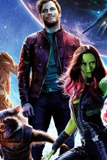 Preview iPhone wallpaper Guardians of the Galaxy HD