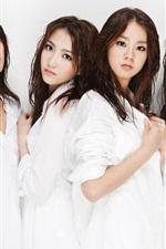 Preview iPhone wallpaper Korea KARA girls 02