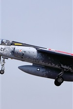 Preview iPhone wallpaper Mirage F1 aircraft in the sky