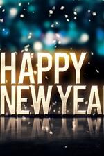 2015 Feliz Ano Novo, Feliz Natal, bolas