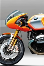 Preview iPhone wallpaper BMW concept 2013 motorbike