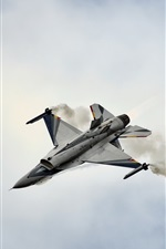 Preview iPhone wallpaper Belgian Air Force F-16 fighter