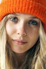 Preview iPhone wallpaper Elizabeth Olsen 03