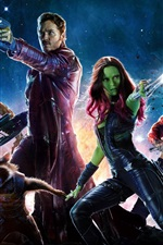 Preview iPhone wallpaper Guardians of the Galaxy