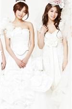 Preview iPhone wallpaper Korea KARA girls 03