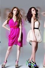 Preview iPhone wallpaper Korea KARA girls 04