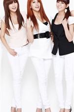 Preview iPhone wallpaper Korea KARA girls 07