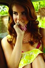 Preview iPhone wallpaper Lana Del Rey 08