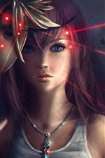 Preview iPhone wallpaper Lightning Returns Final Fantasy XIII, beautiful girl