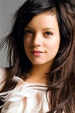 Preview iPhone wallpaper Lily Allen 01