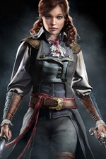 Preview iPhone wallpaper Assassin's Creed: Unity, Eliza, girl