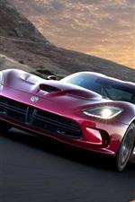 Dodge Viper SRT GTS 2012 supercar vista frontal