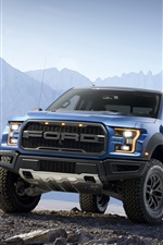 Preview iPhone wallpaper Ford F-150 Raptor Pickup