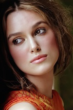 Preview iPhone wallpaper Keira Knightley 09