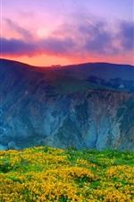 Point Reyes National Seashore, California, USA, clouds, sunset, ocean