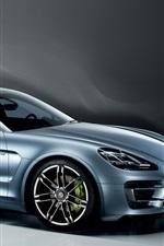 Preview iPhone wallpaper Porsche Panamera concept car