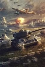 iPhone обои Мир танков, война