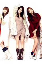 Preview iPhone wallpaper After School, Korea eight girls
